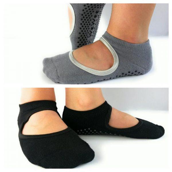 WeWee Yoga Socken mit Komfortzone - 2 Paar